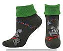 Шкарпетки оптом жіночі махрові з відворотом, фото 5