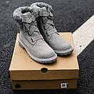 Женские UGG BOOT FUR GREY, фото 4