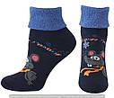 Шкарпетки оптом жіночі махрові з відворотом, фото 9