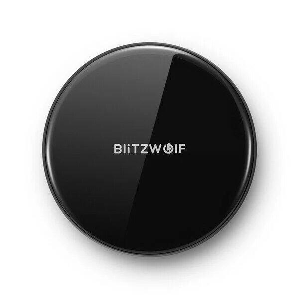 Бездротова зарядка BlitzWolf BW-FWC4 black 10Вт with power supply