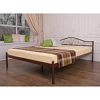 """Металеве двоспальне ліжко """"Лара"""" (8 кольорів), фото 1"""
