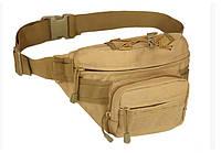 Сумочка тактическая поясная (бананка) TacticBag RVL A29-песок (койот)