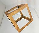 """Подвесной светильник в стиле LOFT """"Куб""""(Цвет дерево), фото 7"""