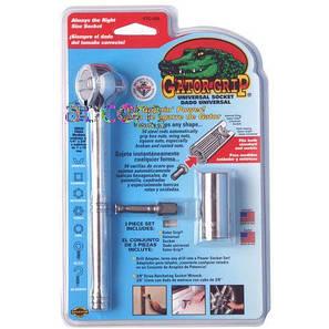 Универсальный торцевой гаечный ключ 7-19 мм gator grip, фото 2