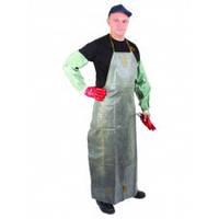 Фартук прорезиненный КЩС длинный,защитная одежда, химзащита, цвет темно серый