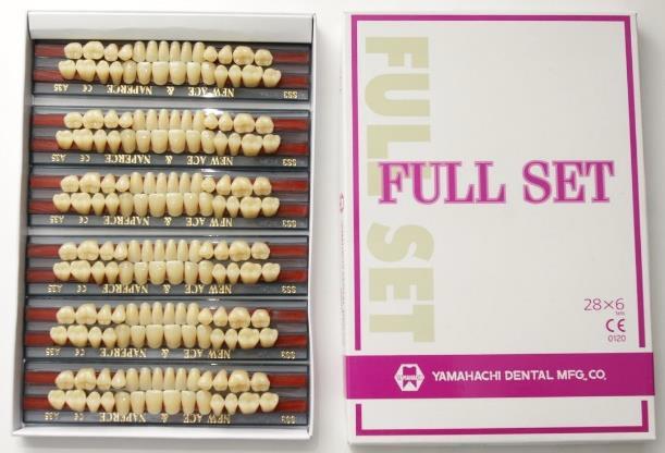 Зубы Full Set (YAMAHACHI)   полный гарнитур, в ассортименте