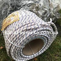 Веревка 8 мм - 50 м, шнур капроновый (полиамидный)