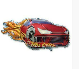 Фольгована фігура HOT CARS FLEXMETAL
