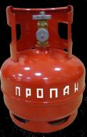 Побутовий газовий балон 5 літрів з ВБ-2