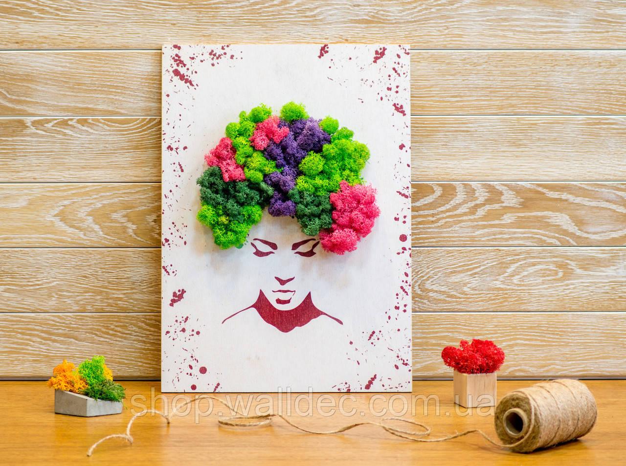 Картина-панно Crazy Hair,  размер А3