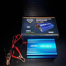 Перетворювач напруги 12V - 220V USB мод.хвиля ARMER