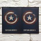 Обкладинка для паспорта Капітан Америка, фото 3