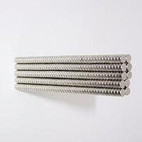 Магнит неодимовый. Диск 3x1 мм 150шт Сцепление ≈ 0,13 кг