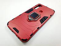 Противоударный чехол IronMan Xiaomi Redmi Note 8 (красный)
