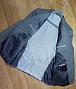 Шикарный классический серый мужской костюм натуральная шерсть Tommy Hilfiger (Размер L)  Оригинал, фото 4