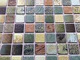 Панели ПВХ Регул Мозаика Античность зеленая, фото 4