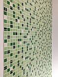 Панели ПВХ Регул Мозаика кофе зеленый, фото 2