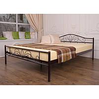 """Металеве двоспальне ліжко """"Лара Люкс"""" (8 кольорів)"""