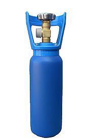 Новий балон 2 л під кисень, вуглекислоту, аргон, азот, мікс та ін