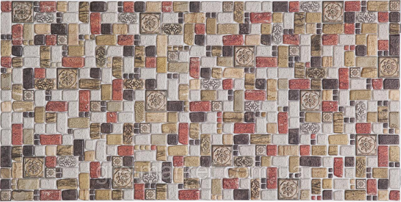 Панелі ПВХ Регул Мозаїка травентіно кориця
