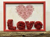 Подарок ко Дню Влюбленных. Картина Love.