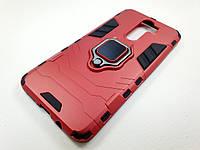 Противоударный чехол IronMan Xiaomi Redmi Note 8 Pro (красный)