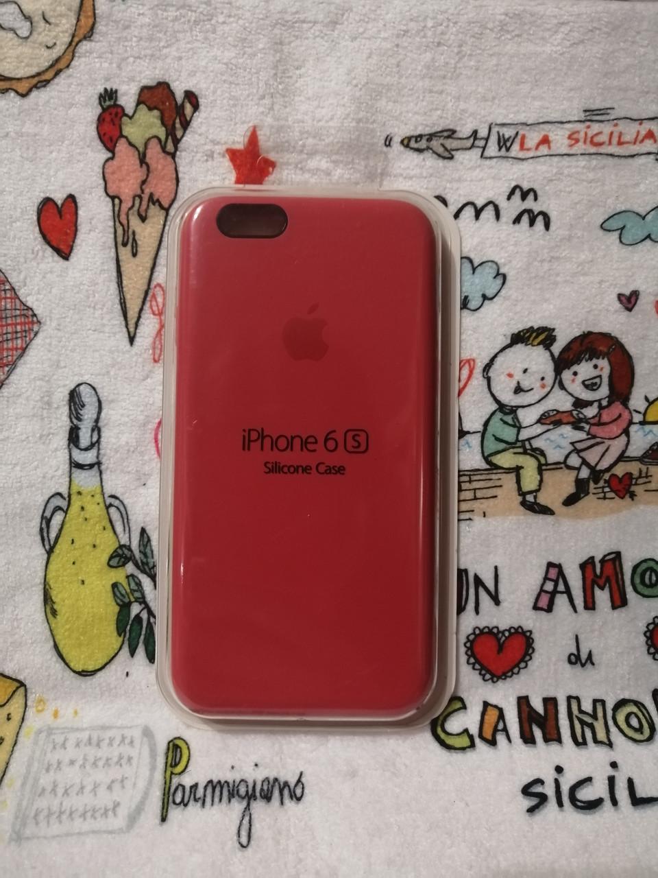 Силиконовый чехол для Айфон  6 / 6S  Silicon Case Iphone 6 / 6S в защищенном боксе - Color 15