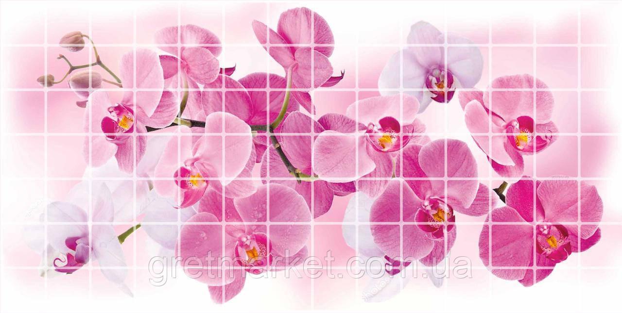 Панели ПВХ Grace Мозаика Орхидея Розея 955*480*0,2 мм