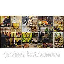Панели ПВХ Grace Граненый квадрат Винсенто 960*480 мм