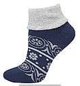 Носки оптом женские махровые с отворотом, фото 4