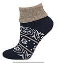 Носки оптом женские махровые с отворотом, фото 6