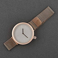 Женские наручные часы классические Mitina Mitina-007 C Золотистым ремешком
