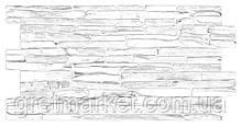 Панели ПВХ Grace Кварцит серый 500*980мм