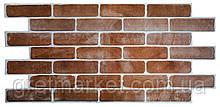 Панели ПВХ Grace Кирпич старый коричневый 1025*495мм