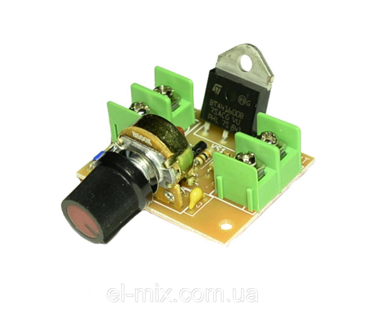 Модуль: регулятор мощности AC 220V 5КВт (2 клеммника)  М139.1