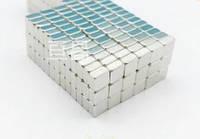 Магнит неодимовый. Прямоугольник 3,6x3,6x2,6 мм Сцепление ≈ 0,32 кг 100 шт.