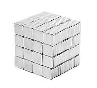 Магнит неодимовый. Прямоугольник 10x10x1,6 мм Сцепление ≈ 0,8 кг 30 шт.