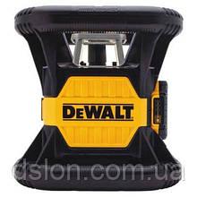 Лазер ротационный DeWALT DCE079D1R,красный,класс лазера 2R,точность+/-0.1мм/м, видимость луча 45м, до 450м