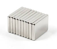 Магнит неодимовый. Прямоугольник 14,5x10x2,5 мм Сцепление ≈ 2,8 кг 10 шт.