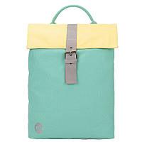 Міський рюкзак Mi-Pac Day Pack Contrast Canvas Mint/Pastel lemon 740530-S23