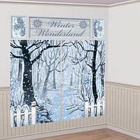 Декорация на стену Зимнее окно 1501-3350