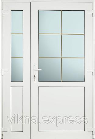 Пластиковые входные двери  Steko 4200 грн за м кв