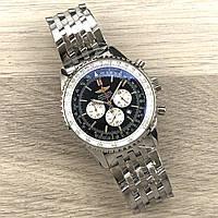 Часы наручные Breitling Navitimer Steel Silver-Black копия
