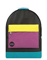 Рюкзак Міський Mi-Pac Classic Colour Block - Black/True Plum 740001-S29, фото 1