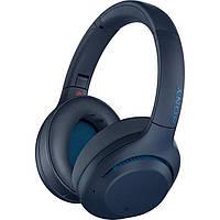 Навушники з мікрофоном Sony WH-XB900N Blue