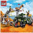 """Конструктор Brick Enlighten 1712 """"Военая база"""", 198 деталей, фото 4"""