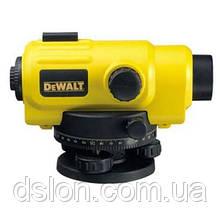 Нивелир 26-кратный, DeWALT DW096PK, точность 2мм, штатив, линейка 2,44м, отвес, чемодан.