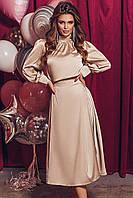 Женское красивое платье из шёлка - армани