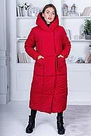 Модное женское пальто на синтепоне 250ой плотности с 42 по 50 рр
