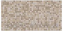 Панели ПВХ Grace Мозаика Коричневая с узорами 955*480 мм